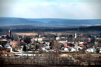 Gettysburg, View from Culps Hill Observation Tower