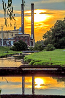 """Historic Hershey with Sunset"""